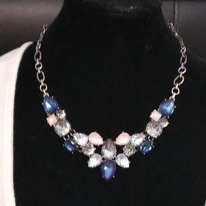 Loft blue statement necklace